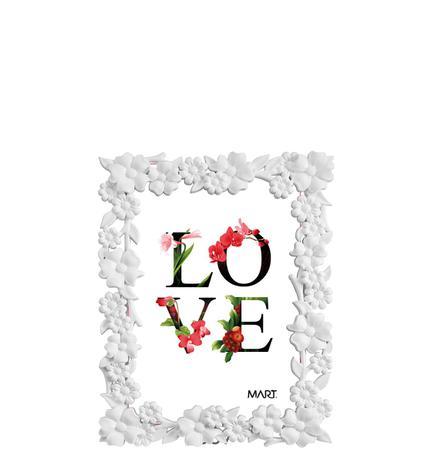 Imagem de Porta Retrato Branco 10 x 15