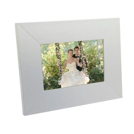 Imagem de Porta Retrato de Madeira 10x15 - PR15-B Branco