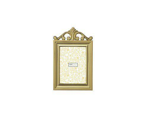 Imagem de Porta-retrato dourado - 10x15