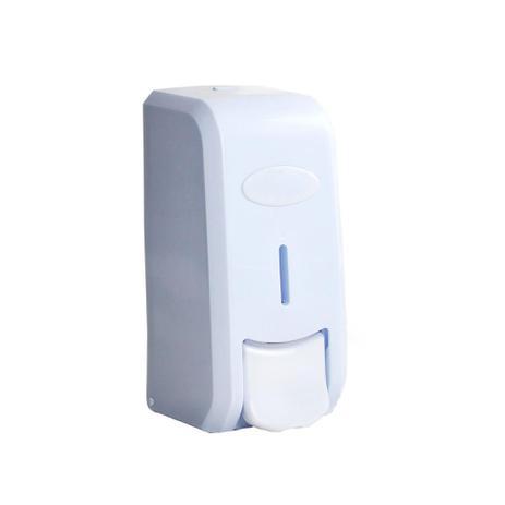 Imagem de Porta Sabonete Liquido alcool em gel Dispenser Saboneteira C/ Reservatório - Nobre
