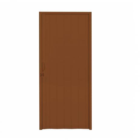 d2fe10254bfec Porta Sanfonada PVC Polifort 210cmx70cm Mogno - Porta - Magazine Luiza
