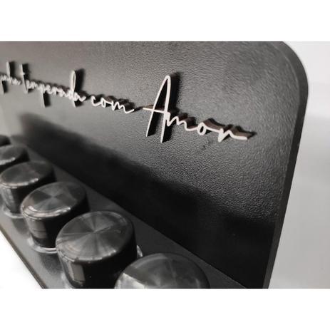 Imagem de Porta Tempero - suporte para condimentos de cozinha com tubetes