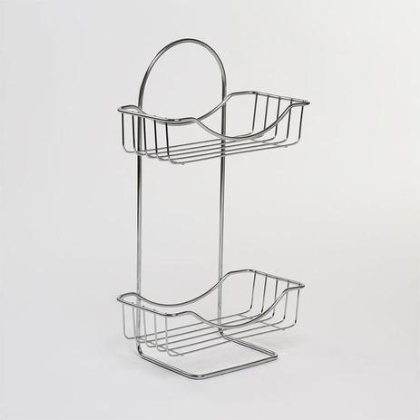 Imagem de Porta-Utensílios para Banheiro Utility 11 cm x 19,5 x 39 cm - Utimil
