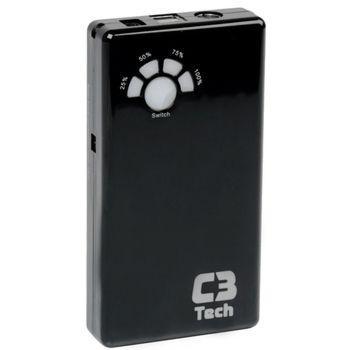 Imagem de Power Bank Carregador USB Portátil para Smartphones, Tablets - 12.000mAh - C3 Tech UC-12000