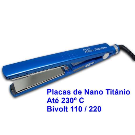 cc6cac10d Prancha Alisadora Chapinha Fast Liss Nano Titanium CP300 - Chapinha ...