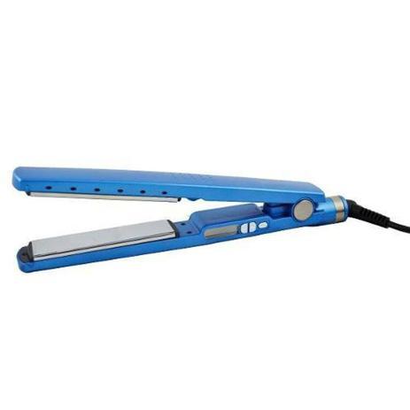 669928328 Prancha Chapinha Importada Nano Titaniun Bivolt 450F Azul - Diversos ...