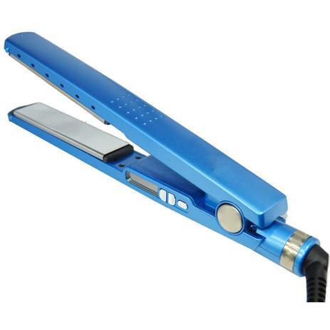 994ccca36 Prancha Chapinha Original Pro Nano Titanium 450 Azul - Chapinha ...