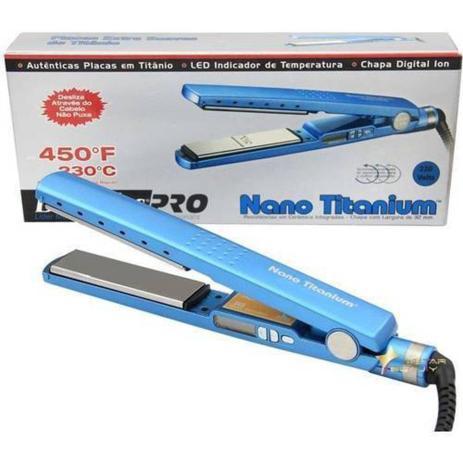 96e03c25e Prancha Nano Titanium Babyliss Pro 1 1/4 (Original) 110v - Chapinha ...