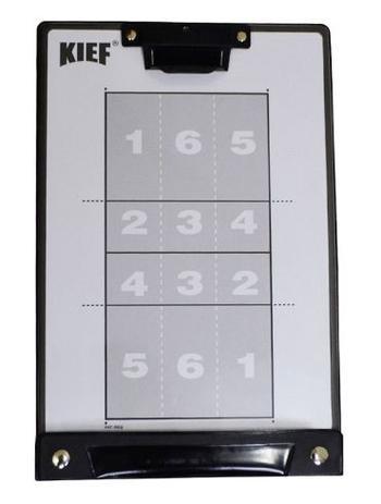 6b1c6f885f Prancheta Tática Magnética Kief Vôlei Com Caneta   Menor preço com cupom