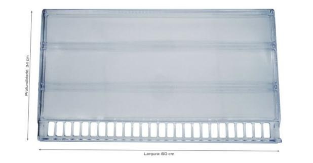 Imagem de Prateleira Acrílica Refrigerador Geladeira Bosch Kdn42 Kdn43 Kdn44 Kdn46