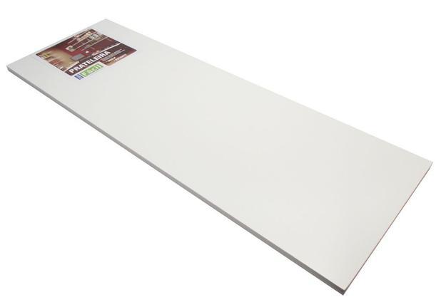 Imagem de Prateleira de Aglomerado Casa Facil Fico Ferragem Branco 30 Cm, 60 Cm