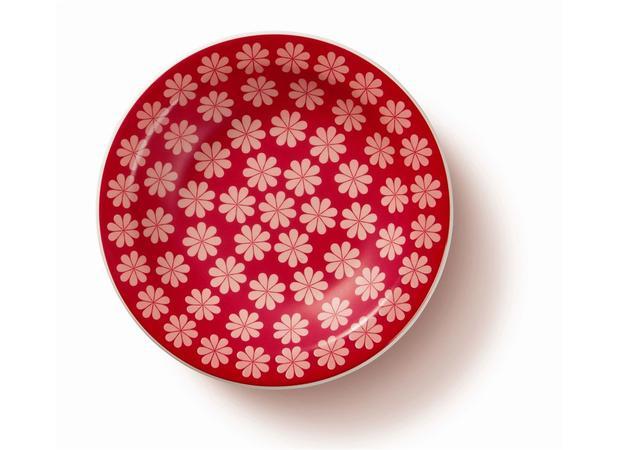 Prato Fundo Cerâmica 23 cm Floreal Renda Oxford - OXF 410 - Pratos ... 8ecfb351e6314