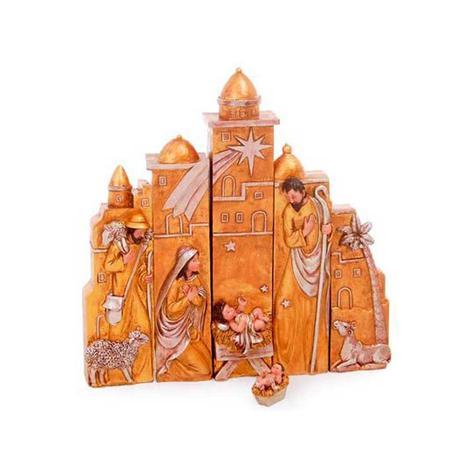 Imagem de Presépio de Natal Dourado Cromus