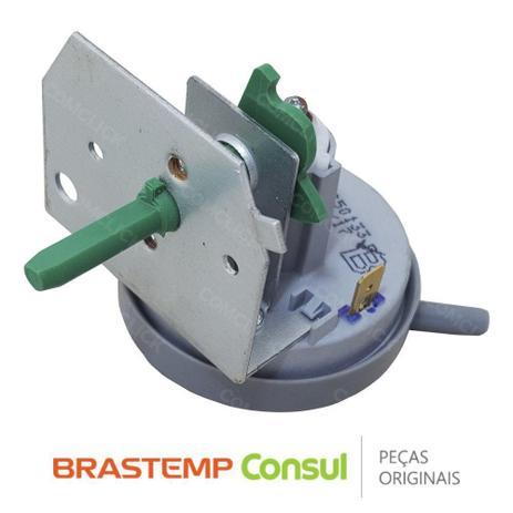 Imagem de Pressostato / Sensor de Pressão da Água 4 Níveis 326050133 para Lavadora Brastemp BWL07A, BWL09A