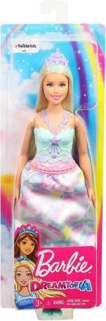 Imagem de Princesa Dreamtopia Barbie vestido azul FXT13/FXT14 - Mattel