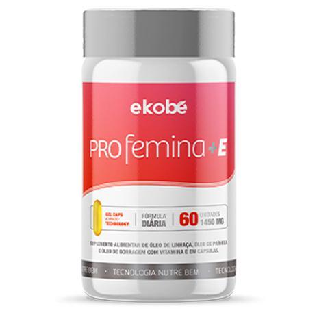 Imagem de Pro Femina +E Óleo de Prímula, Borragem e Linhaça + Vitamina E  60 caps
