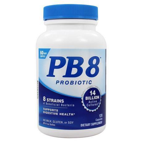 Imagem de Probiotico PB8 120 capsulas - importado