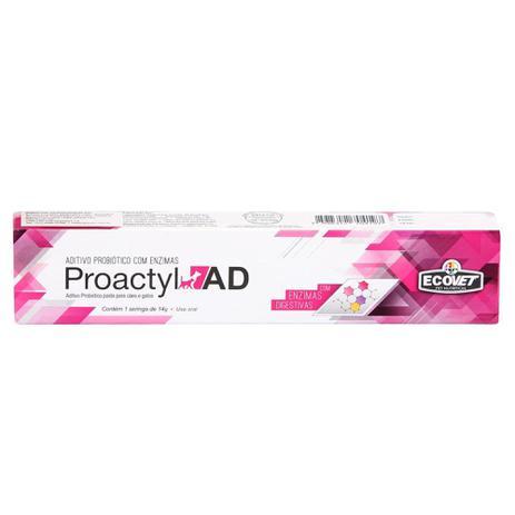 Imagem de Probiotico Proactyl AD Ecovet 14g