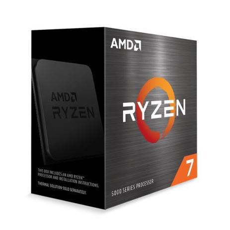 Imagem de Processador AMD Ryzen 7 5800X 3.8GHz (4.7GHz Max Turbo) 32MB Cache AM4 Sem Vídeo Sem Cooler