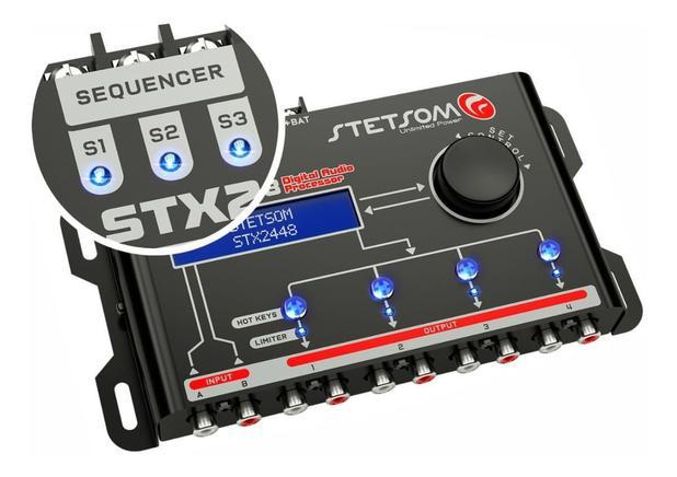 Imagem de Processador De Audio Digital Stetsom - Stx 2448 Equalizador E Crossover