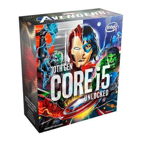 Imagem de Processador Intel Core i5-10600K Avengers Edition Hexa-Core 4.1GHz (4.8GHz Turbo)