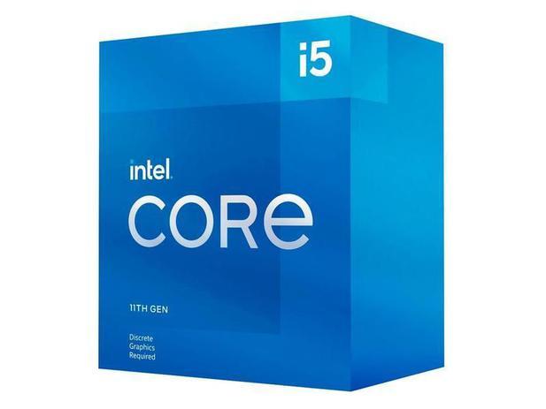 Imagem de Processador intel core i5-11400f 11 geracao, cache 12mb, 2.6 ghz (4.4ghz turbo), lga1200 - bx8070811