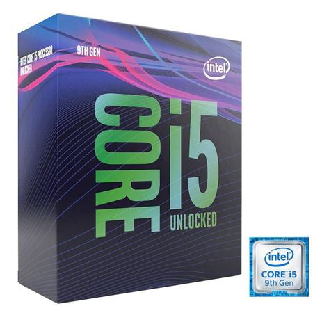 Imagem de Processador Intel Core i5 9600K 9ª Geração 9MB 1151 3.7Ghz Box BX80684I59600K