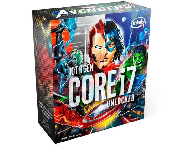 Imagem de Processador Intel Core i7 10700K Avengers Edition