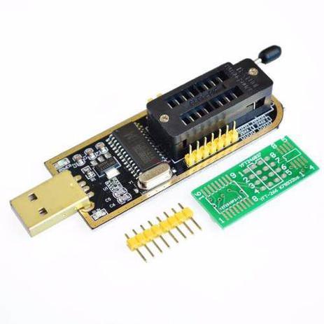 Imagem de Programador Gravador Eprom Usb Ch341a Flash Spi Bios Ch341a