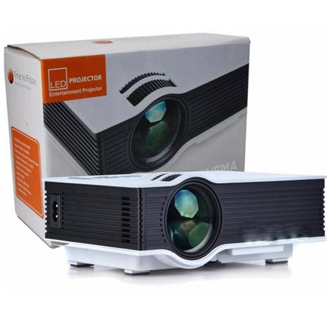 Imagem de Projetor Led 800 Lumens Hd Hdmi Data Show Xbox Ps4 1080p