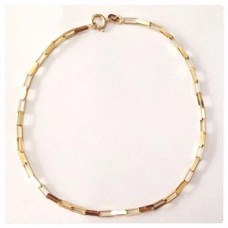 c6cae690c Promoção Pulseira Masculina Ouro 18k 750 Elo Cartier Maci - Total pratas