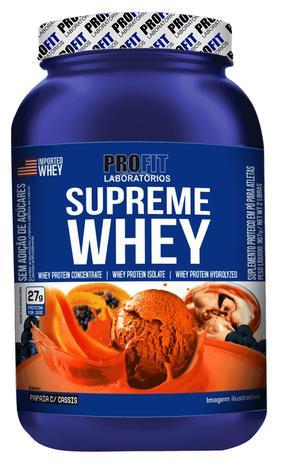 6a4ffe163 Proteina Whey Protein Supreme Whey 900g Profit - Whey Protein ...