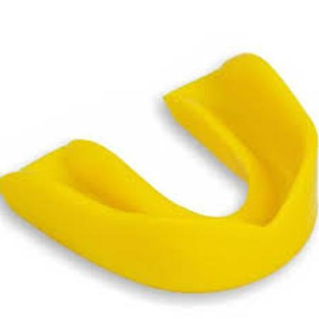 Imagem de protetor bucal simples amarelo