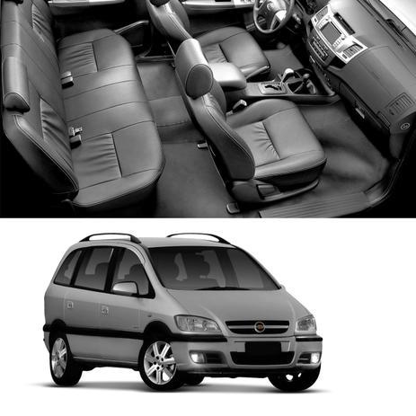 Protetor De Assoalho Couro Ecolgico Chevrolet Zafira 2001 A 2012 7
