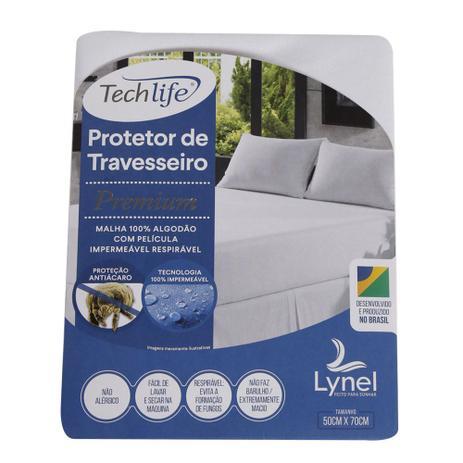 bac6eb30b Protetor de Travesseiro Impermeável Lynel (50x70cm) - Tech Life Premium