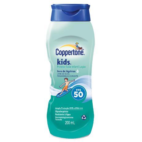 Gemeinsame Protetor Solar Coppertone Kids FPS 50 200ml - Bayer - Protetor &BQ_49