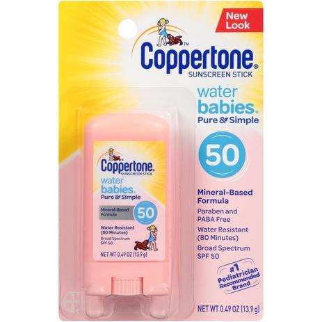 ef7a8dc90 Protetor Solar Kids Para Bebê Em Bastão Coppertone - Protetor Solar ...