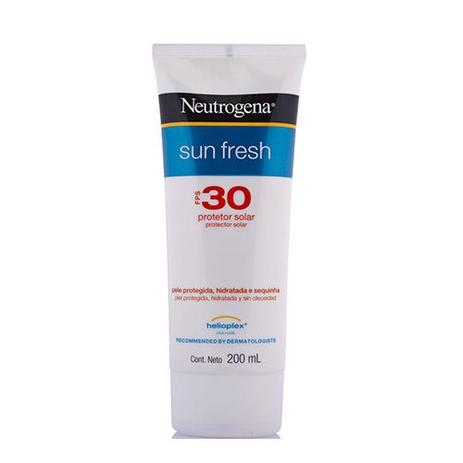 Imagem de Protetor Solar Neutrogena Sun Fresh FPS30