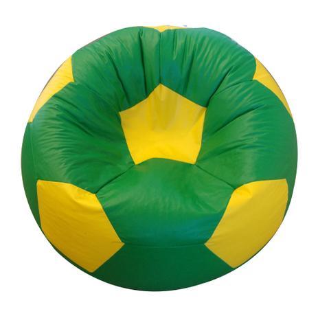 5fc328c9e4 Puff Bola Super Corino Amarelo e Verde - Phoenix puff - Puffs ...