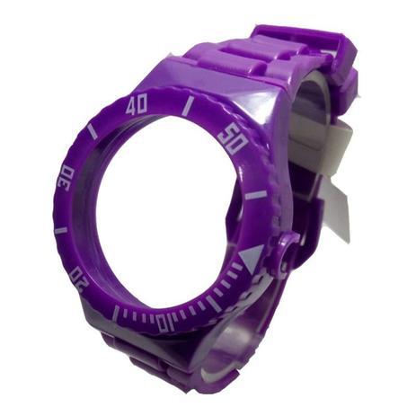 Imagem de Pulseira Compatível com Relógio Champion Troca Pulseiras Lilas