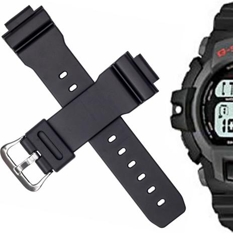 407fad52339 Pulseira Compatível para Relógio Casio G-Shock G 2200 de Silicone Branca -  Oficina dos relógios