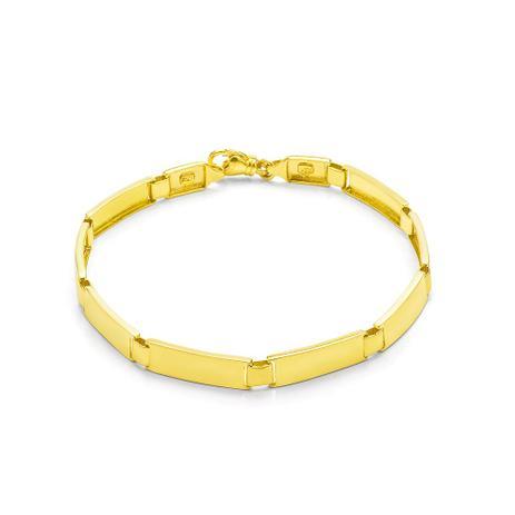 e3d3d56605c9e Pulseira de Ouro 18k Articulada com 20cm PU02773 - Joiasgold ...