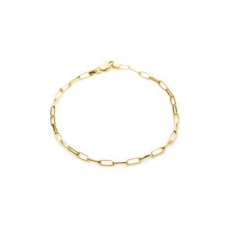 d60a865454b69 Pulseira de Ouro 18k Cartier Alongada com 21cm pu03314 - Joiasgold ...