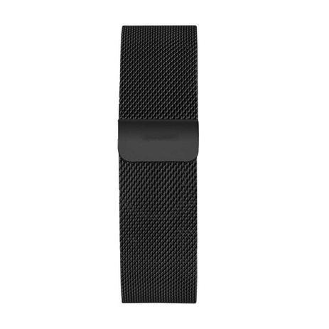 486f3ab48a59e Pulseira Luxo Aço Inoxidável Para Apple Watch 42mm - Preta - Bms ...