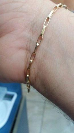 02e24271f09 Pulseira Masculina Cartier Oco Ouro 18k 750 2