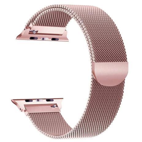 Imagem de Pulseira Milanese Para Apple Watch 42mm - Rose