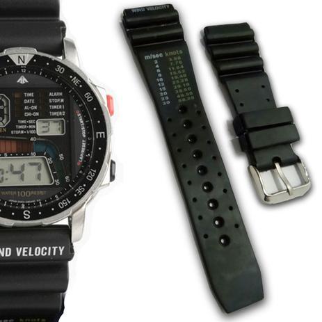 e9e7bdff0ab Pulseira Relógio Relógio compatível com Citizen Windsurf D060 - Oficina dos  relógios