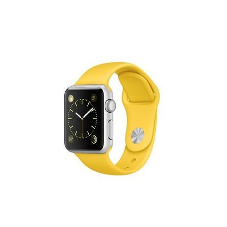fd9d27f900c Pulseira Sport Tamanho Feminino Amarelo Compativel com apple watch de 42mm  e 44mm - Iphone