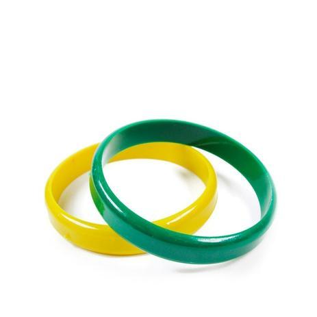 9e718efd01 Pulseira Verde e Amarela 25 unidades Dodô - Festabox | Menor preço ...
