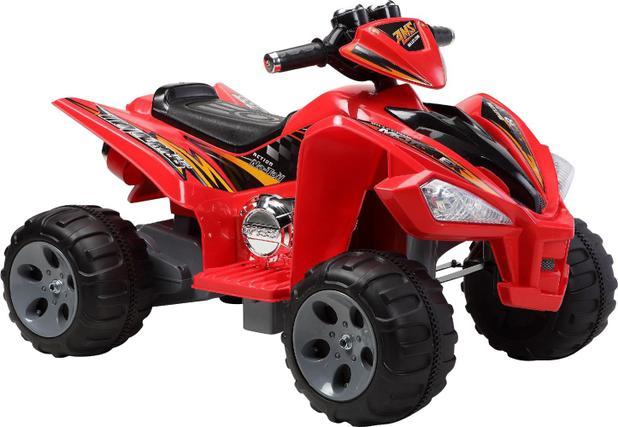 Imagem de Quadriciclo Elétrico Infantil Vermelho 12V Bel Brink